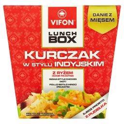 Lunch Box Kurczak w stylu indyjskim Danie pikantne