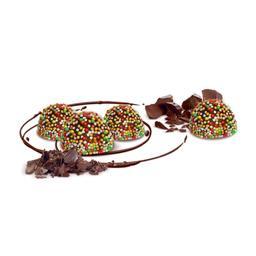 Cukierki czekoladowe Pastylki z maczkiem, produkt wagowy