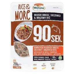 Rice & More Kompozycja włoskiego orkiszu soczewicy i brązowego ryżu