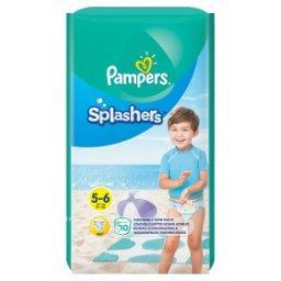 Splashers, R5-6, 10jednorazowych pieluch do pływani...