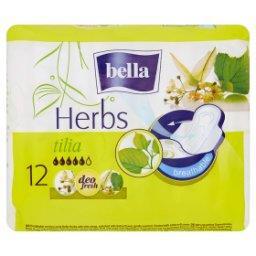 Herbs Tilia Podpaski higieniczne 12 sztuk