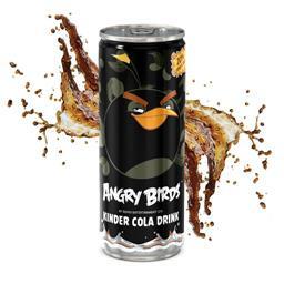 Napój niegazowany angry birds kinder cola, puszka 250 ml