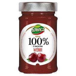 Dżem 100% z owoców wiśnia