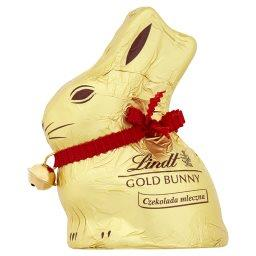 Gold Bunny Zajączek Czekolada mleczna