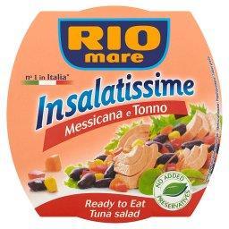 Insalatissime Messicana e Tonno Gotowe danie z warzyw i tuńczyka