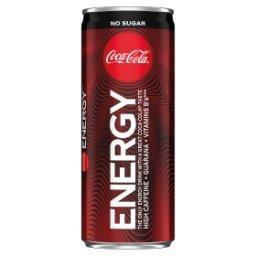 Energy No Sugar Napój gazowany energetyzujący