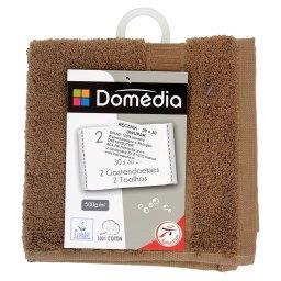 Ręcznik 30 x 30 cm brązowy dwupak