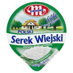 Polski Wiejski serek ze szczypiorkiem lekki