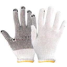Rękawice ochronne wełniane nakrapiane
