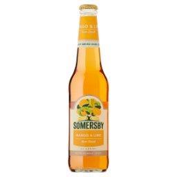 Napój piwny o smaku mango i limonki