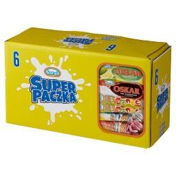 Super paczka Lody  (6 sztuk)