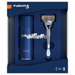 Zestaw podarunkowy zmaszynką do golenia Fusion5 + Sensitive żel do golenia