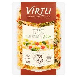 Ryż z warzywami fit