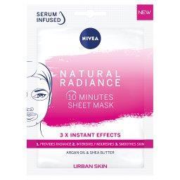 Urban Skin Natural Radiance 10-minutowa maska w płachcie