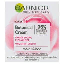Botanical Cream Krem nawilżający woda różana