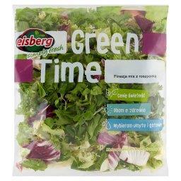 Green Time Finezja mix z roszponką Mieszanka świeżych krojonych warzyw