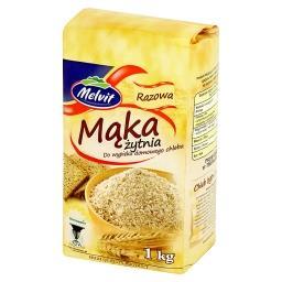 Mąka żytnia razowa do wypieku domowego chleba