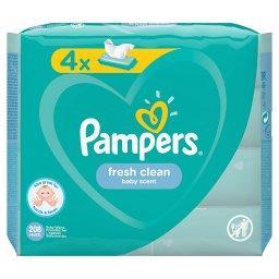 Fresh Clean Chusteczki nawilżane dla niemowląt 4 opa...