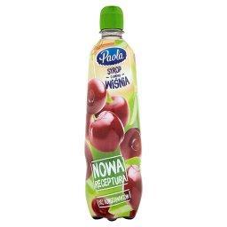 Syrop o smaku wiśnia