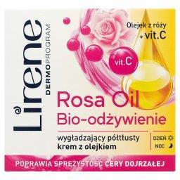 Dermoprogram Rosa Oil Bio-odżywienie Wygładzający półtłusty krem z olejkiem