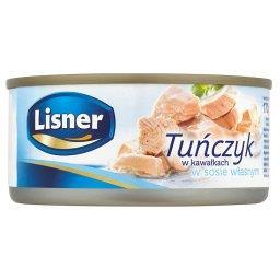 Tuńczyk w kawałkach w sosie własnym