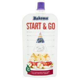 Start & Go Przecier owocowy jabłko-banan-jagoda