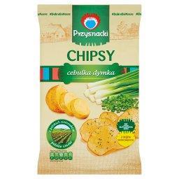 Chipsy o smaku cebulka dymka