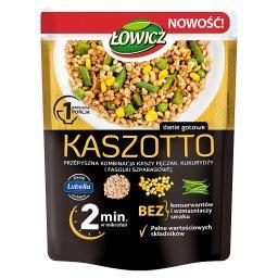 Kaszotto kasza pęczak z kukurydzą i fasolą szparagową