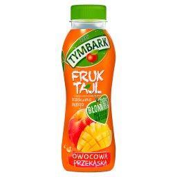 Fruktajl brzoskwinia mango Koktajl wieloowocowy z kawałkami owoców