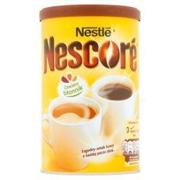 Kawa rozpuszczalna z oligofruktozą i cykorią