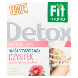 Detox Forte Suplement diety Napój oczyszczający Czystek 20 g (10 saszetek)