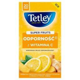 Super Fruits Odporność z witaminą C Cytryna&Imbir 20 torebek
