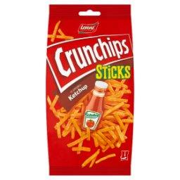 Sticks Chipsy ziemniaczane o smaku ketchup