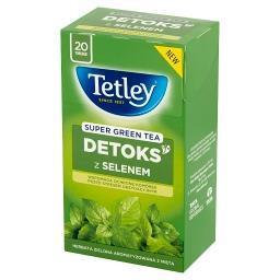 Super Green Tea Detoks Herbata zielona z miętą  (20 ...