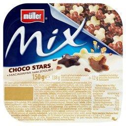 Mix Jogurt o smaku orzechów makadamia z gwiazdkami zbożowymi w czekoladzie