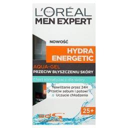 Men Expert Hydra Energetic 25+ Aqua-gel przeciw błys...