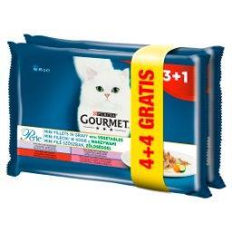 Perle Karma dla kotów kolekcja mini filecików w sosie z warzywami 680 g