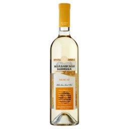 Muscat Wino białe półsłodkie mołdawskie 0,75 l