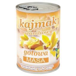 Kajmak o smaku waniliowym Masa gotowa