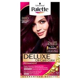 Deluxe Oil-Care Color Farba do włosów Ciemny bordo 880