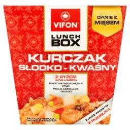 Lunch Box Danie błyskawiczne kurczak słodko-kwaśny