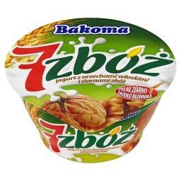 7 zbóż Jogurt z orzechami włoskimi i ziarnami zbóż