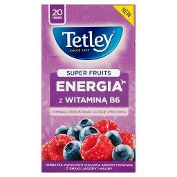 Super Fruits Energia z witaminą B6 Jagoda&Malina 20 ...