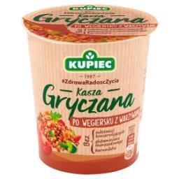 Kasza gryczana po węgiersku z warzywami