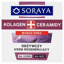 Kolagen + Ceramidy Odżywczy krem regenerujący na dzi...