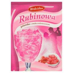 Rubinowa galaretka o smaku wieloowocowym