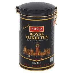 Royal Elixir Tea Knight Czarna liściasta herbata cej...