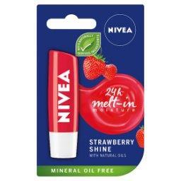Strawberry Shine Pielęgnująca pomadka do ust