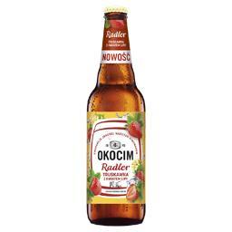 Piwo Okocim Radler Truskawka z kwiatem lipy, butelka...