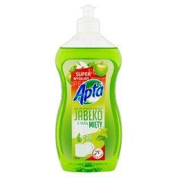 Żel do mycia naczyń jabłko z nutą mięty